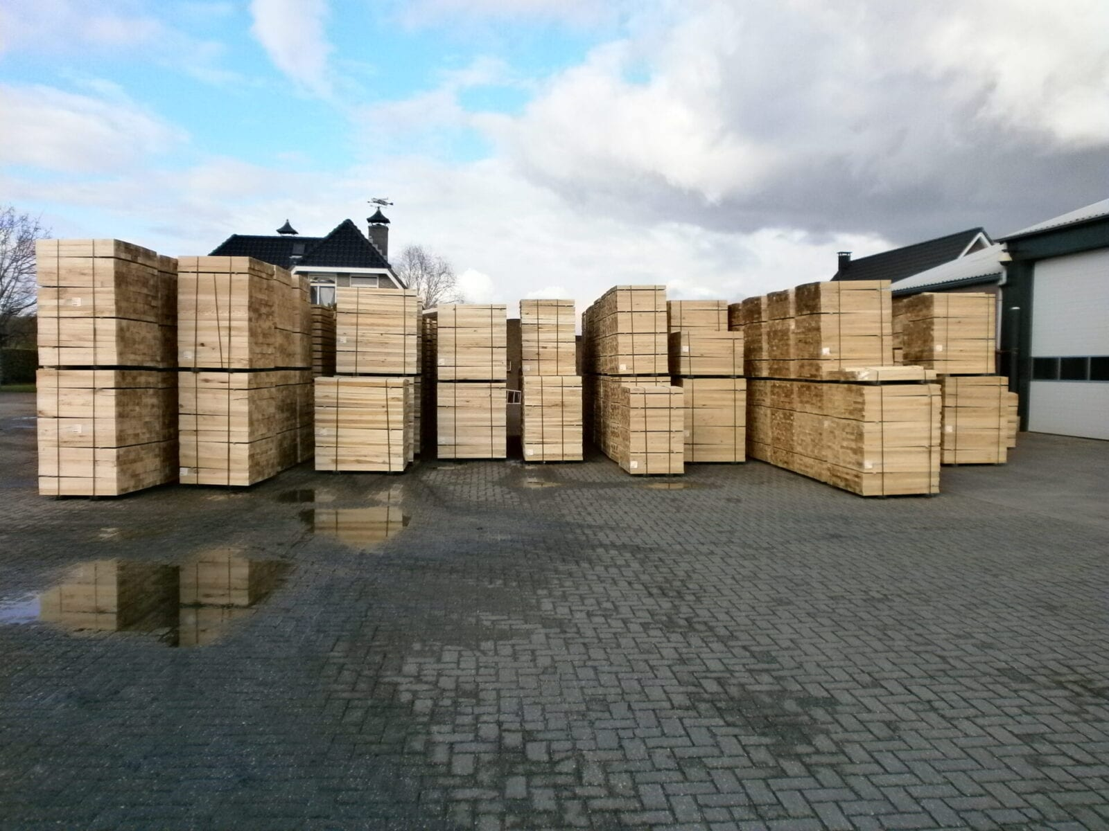 Embalage hout / stophout